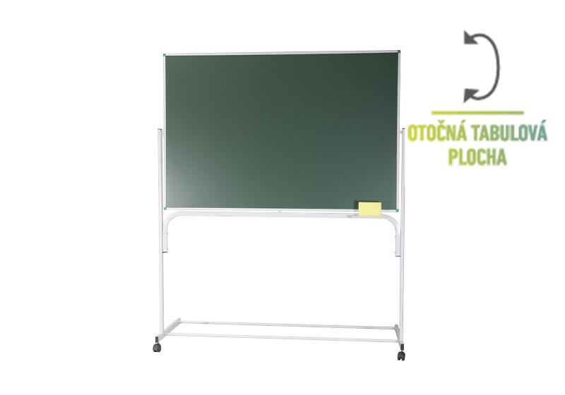 Klasické naklopitelné zelené stojanové tabule