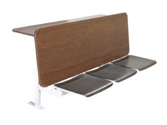 trojmístná, sedáky Soliwood, deska stolu