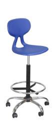 Office plus židle se skořepinou Eduplast