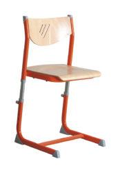 nastavitelná, překližkový sedák a opěradlo