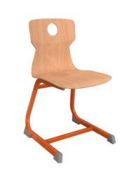 Geo Soliwood Ergo židle s otvorem na uchopení