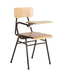 Židle do učebny s podložkou na psaní