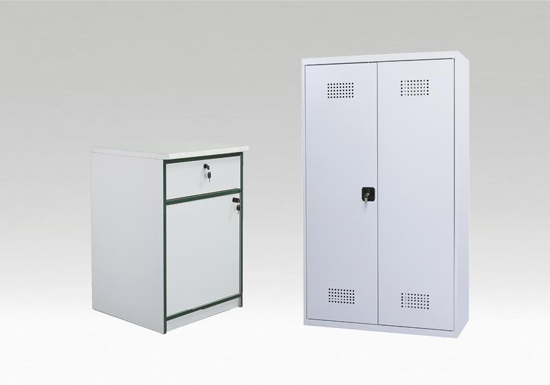 Kovové skříně a skříně na chemikálie