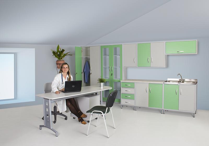 Zdravotnický nábytek (na ošetřovnu)