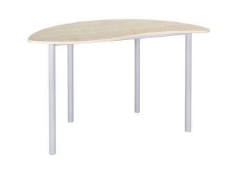 Půlkruh vlna učitelský stůl