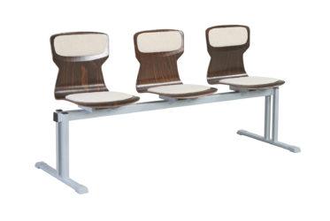Soliwood trojmístná řadová židle (lavička)
