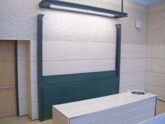 klasická nezávisle posuvný sloupový tabulový systém s jednou deskou