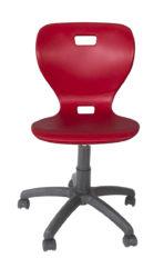 otočná židle, plastová skořepina