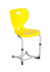 žákovská židle, plastová skořepina