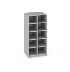 školní skříň, na kolečkách, zásuvky Gratnell's