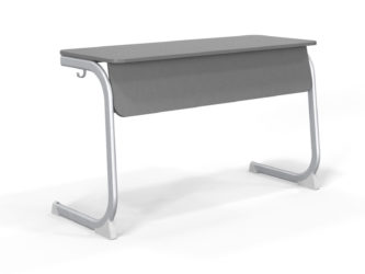 dekoritová deska stolu, zaoblená