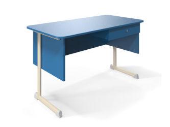 1 zásuvka, deska stolu z laminované dřevotřísky