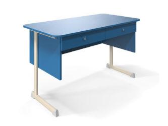 2 zásuvky, deska stolu z laminované dřevotřísky