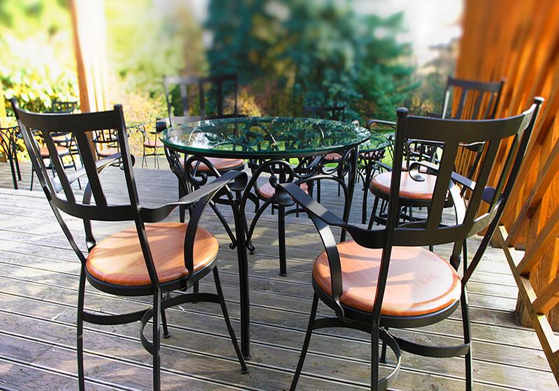 Kované židle