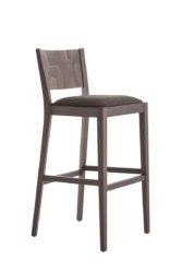 Dřevěná barová židle