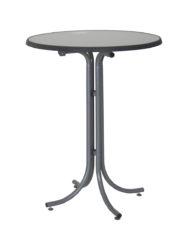 Ocelový barový stůl