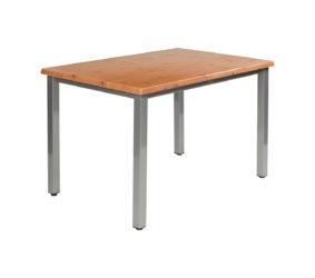 Ocelová podnož stolu