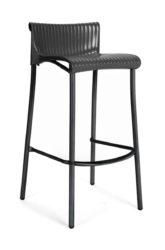 Plastová barová židle