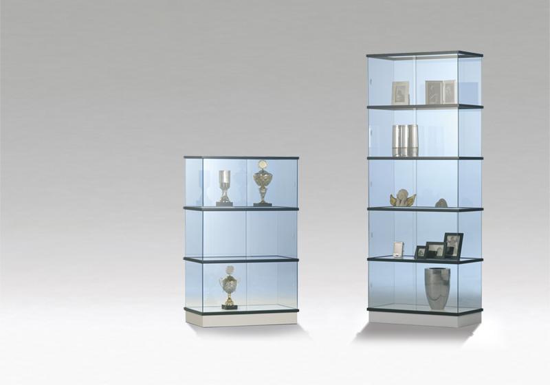 Skleněné vitríny