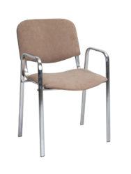 ISO 2 – židle s chromovanou konstrukcí