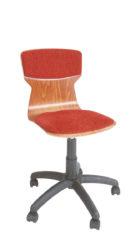 Otočná židle s pístovým mechanismem