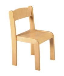 Donald 1 – židle s dřevěnou konstrukcí