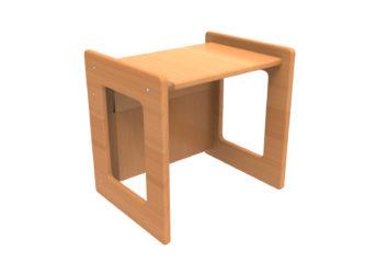 Dětský sedák / stolička se dvěma výškami sedu