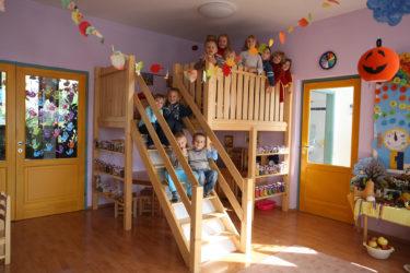 Herní patro pro školky 180 × 200 cm