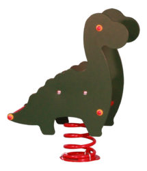 Dinosaurus – jednomístná pružinová houpačka