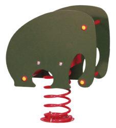 Slon – jednomístná pružinová houpačka