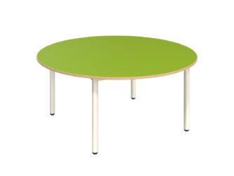 Pohádkový kruhový stůl s dekoritovým povrchem - 120 cm