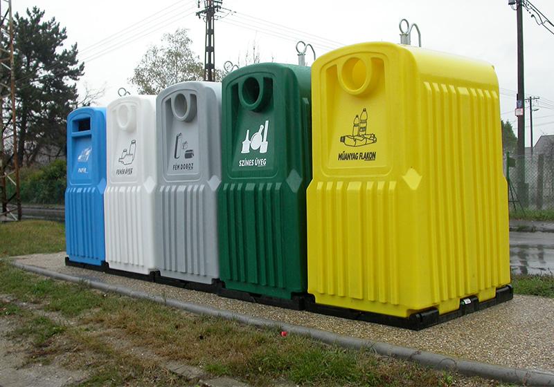 Kolektory na tříděný odpad