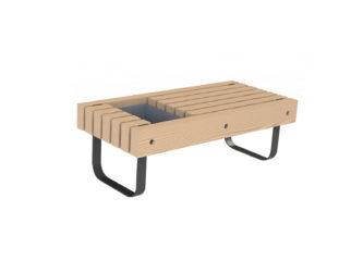 SimpliCity lavička/květináč