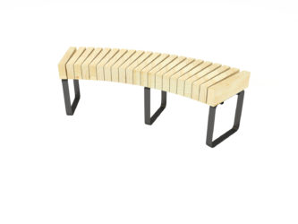 SimpliCity oblouková lavice