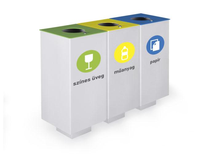 Cube odpadkový koš na tříděný odpad