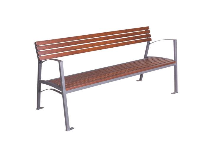 Valencia trojmístná lavička s područkami