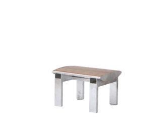 Central jednomístná lavička bez opěradla