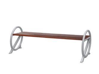 Ring venkovní trojmístná lavička bez opěradla