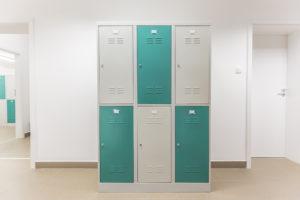 FittMet 40 šestimístné skříňky s přepážkou