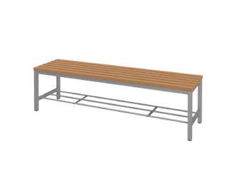 WPC latě, 150 cm široký sedák