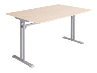 laminovaná deska stolu s nezaoblenými rohy