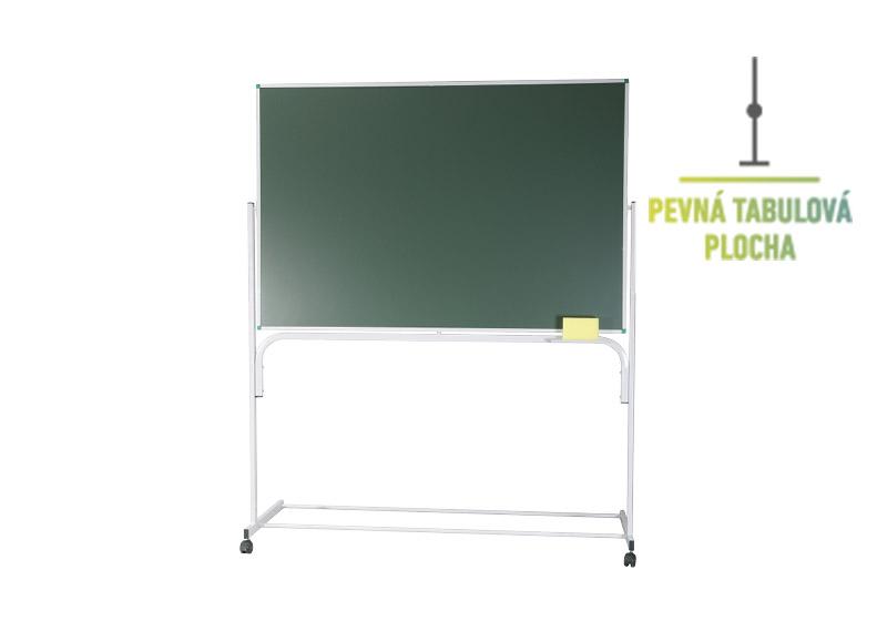 Klasické fixní zelené stojanové tabule