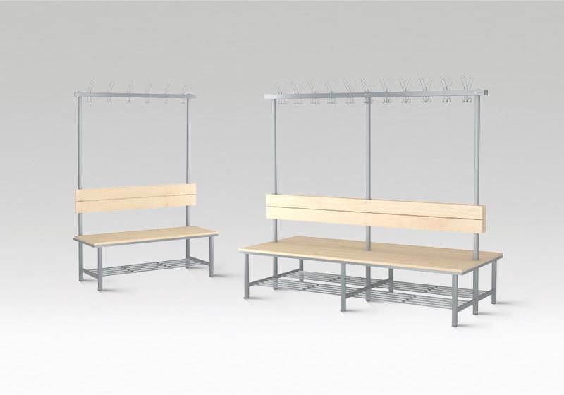 Šatní lavičky