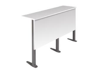 jednomístná deska stolu střední řady