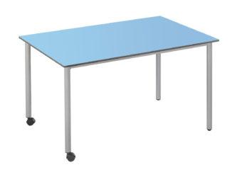 120 × 73 cm obdélníkový stůl, na kolečkách