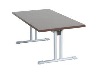 skládací stůl 60 × 130 cm