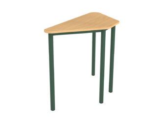 45° lichoběžníkový stůl