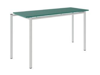 žákovský stůl, dekorit s ostrými rohy