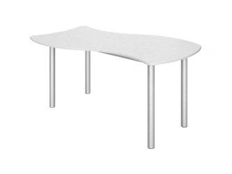 obdélníkový stůl, nastavitelný, laminovaný
